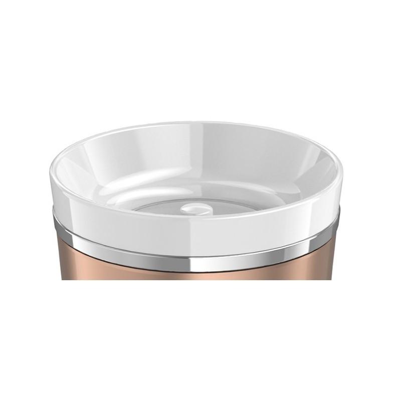 Nakrętka z przyciskiem do wodoszczelnego termokubka – biały