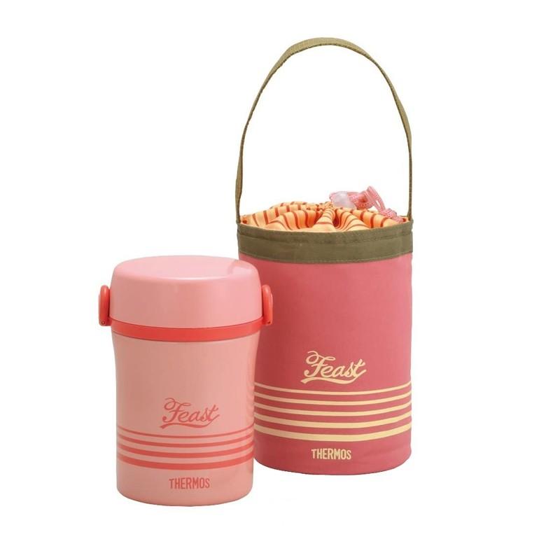 Dziecięcy pojemnik na żywność – różowy