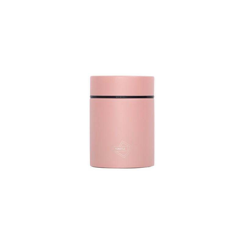 Kieszonkowy termos na jedzenie POKETLE - peach pink