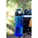 Butelka nawadniająca z licznikiem – ciemnoniebieska