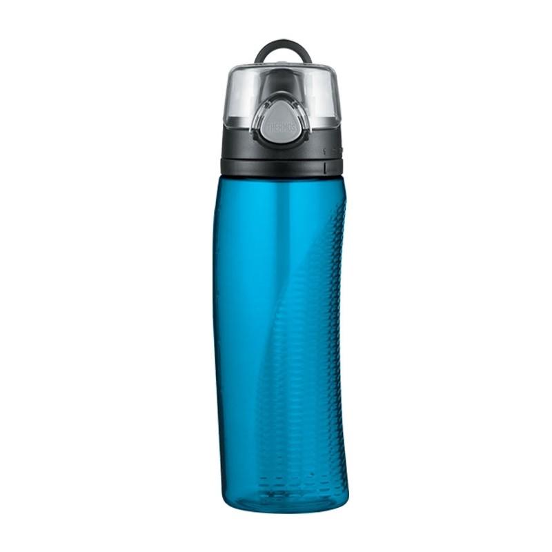 Butelka nawadniająca z licznikiem – jasnoniebieska