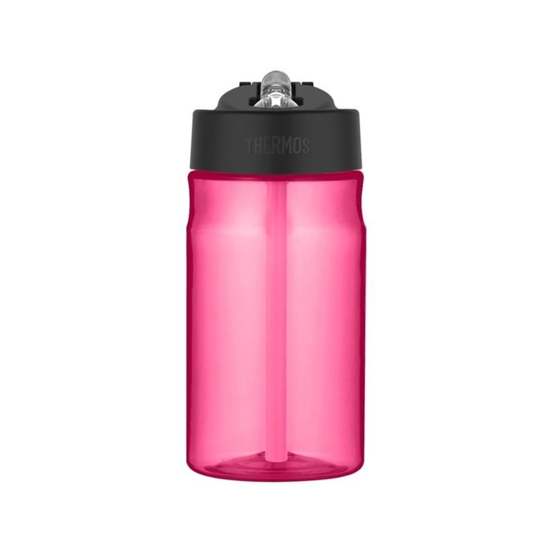 Dziecięca butelka nawadniająca ze słomką - różowa