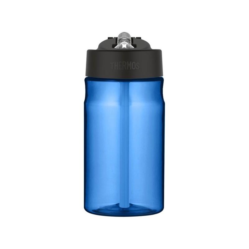 Dziecięca butelka nawadniająca ze słomką - jasnoniebieska