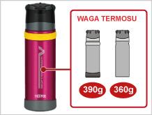 Thermos - termos outdoorowy - waga